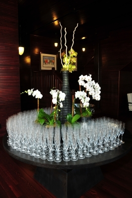 Fuente Dedication 2012 orchids glasses