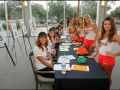 Hooters Draft Party Girls