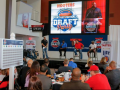 Hooters Draft Party Stage